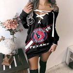 Houston Texans Lace-Up Sweatshirt 49