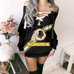 Washington Redskins Lace-Up Sweatshirt 57