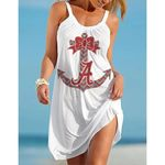 NCAAF Alabama Crimson Tide Halter Beach Dress 023