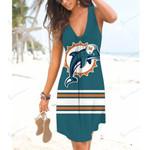 NFL Miami Dolphins Beach Dress 89