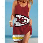 NFL Kansas City Chiefs Beach Dress 86