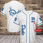 Duke Blue Devils Personalized  Baseball Jersey 335