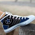 Dallas Cowboys High Top Shoes 010