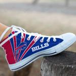 Buffalo Bills High Top Shoes 011