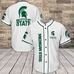Michigan State Spartans Baseball Jersey 378