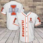 Illinois Fighting Illini Baseball Jersey 379