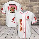 Maryland Terrapins Baseball Jersey 381