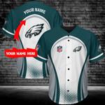 Philadelphia Eagles Personalized Baseball Jersey 387
