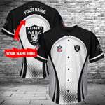 Las Vegas Raiders Personalized Baseball Jersey 388
