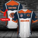 Chicago Bears Personalized Baseball Jersey 395