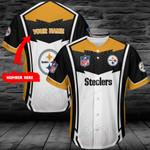 Pittsburgh Steelers Personalized Baseball Jersey 398