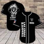 Las Vegas Raiders Personalized Baseball Jersey 392