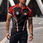 San Francisco 49ers Polo T-shirt 055