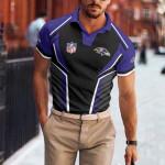 Baltimore Ravens Polo T-shirt 058