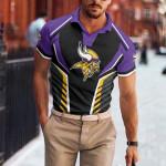 Minnesota Vikings Polo T-shirt 059