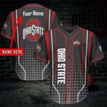Ohio State Buckeyes Personalized Baseball Jersey 407