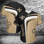New Orleans Saints Baseball Jersey Shirt 427