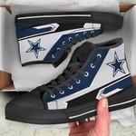 Dallas Cowboys High Top Shoes 014