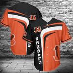 Cincinnati Bengals Baseball Jersey 433
