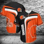 Cleveland Browns Baseball Jersey 434