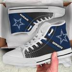 Dallas Cowboys High Top Shoes 017