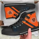 Chicago Bears High Top Shoes 018