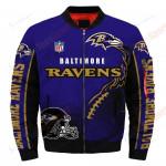 Baltimore Ravens Bomber Jacket 124