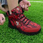 San Francisco 49ers Hiking Shoes 08
