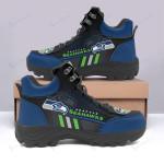 Seattle Seahawks Hiking Shoes 04