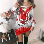 Kansas City Chiefs Lace-Up Sweatshirt 71