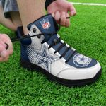 Dallas Cowboys Hiking Shoes 06