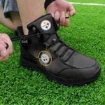 Pittsburgh Steelers Personalized Hiking Shoes 21