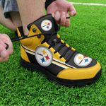 Pittsburgh Steelers Hiking Shoes 17