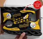 Pittsburgh Steelers Personalized Yezy Running Sneakers 225