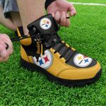 Pittsburgh Steelers Hiking Shoes 26