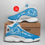 Detroit Lions Personalized AJD13 Sneakers 1085