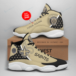 New Orleans Saints Personalized AJD13 Sneakers 1063