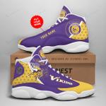 Minnesota Vikings Personalized AJD13 Sneakers 1069