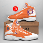 Clemson Tigers Personalized AJD13 Sneakers 1075