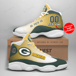 Green Bay Packers Personalized AJD13 Sneakers 1057