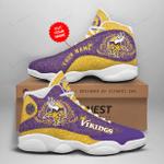 Minnesota Vikings Personalized AJD13 Sneakers 1072
