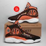 Cincinnati Bengals Personalized AJD13 Sneakers 1059