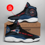 New England Patriots Personalized AJD13 Sneakers 1077