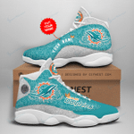 Miami Dolphins Personalized AJD13 Sneakers 1068