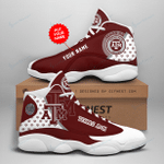 Texas A&M Aggies Personalized AJD13 Sneakers 1078