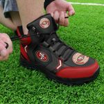 San Francisco 49ers Hiking Shoes 34