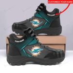 Miami Dolphins Personalized Hiking Shoes 43