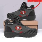 San Francisco 49ers Personalized Hiking Shoes 46
