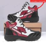 Arkansas Razorbacks Personalized Hiking Shoes 65