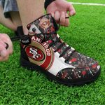 San Francisco 49ers Personalized Hiking Shoes 56